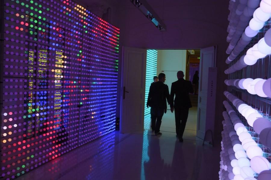 Mur de led Interactive