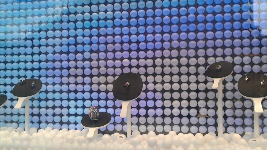 Balles de pingpong qui changent de couleur